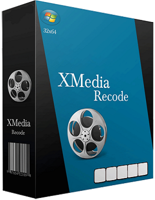 XMedia Recode 3.3.4.8 poster box cover