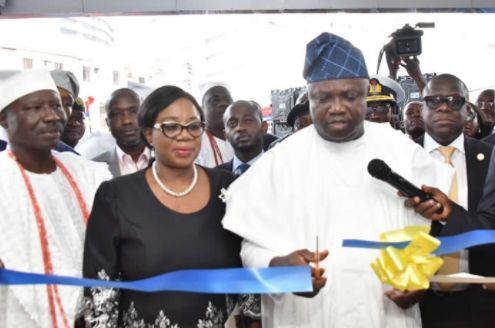 Photos of Newly Commissioned DNA Forensic Lab in Lagos