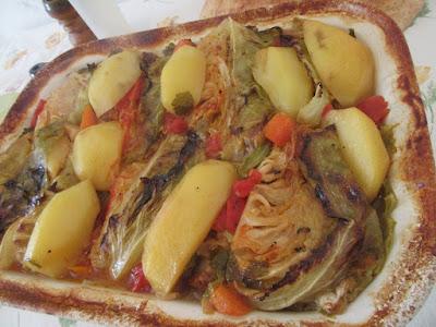 Proljetni složenac - kalja / Spring casserole