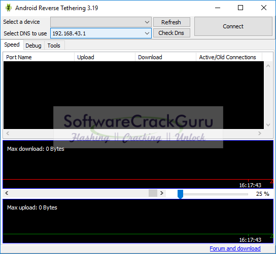 android reverse tethering 3.02 free download