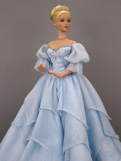 Cinderella Playing With Dolls