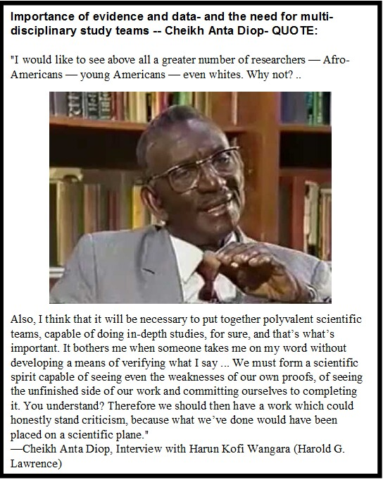 Drcheikh Anta Diops African Orgins Of Man Egyptsearch Reloaded