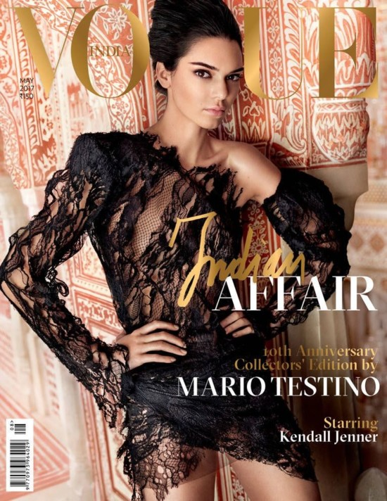 Kendall Jenner on The Cover of Vogue Magazine India May 2017