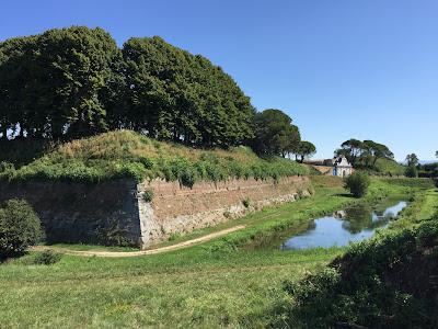 A bastion near Porta Aquileia.