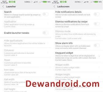 MIUI tweaking Xposed module Apk