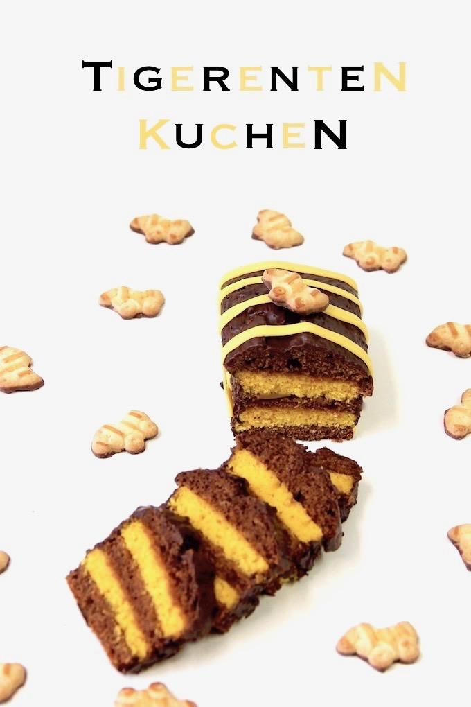 FOOD Blog • Rezept für Tiger Kuchen mit Tigerenten Keks