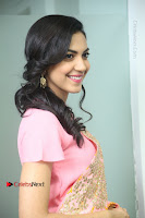 Actress Ritu Varma Pos in Beautiful Pink Anarkali Dress at at Keshava Movie Interview .COM 0120.JPG