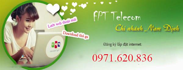 Lắp Đặt Internet FPT Phường Lộc Vượng, Tp Nam Định