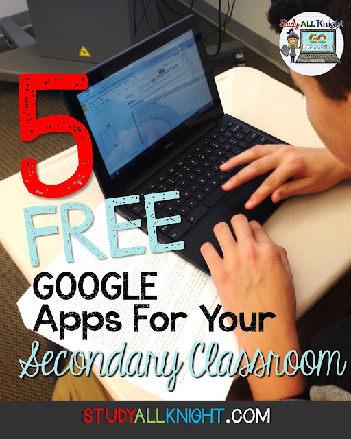 Are you looking for free Google app extensions to make life in your secondary classroom easier? Then check these out! You'll never live without them again! Perfect for your English, Math, and other high school classes. Even middle school and upper elementary teachers will love these free Google App Extensions.