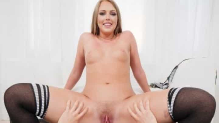 Ashley Red in Blonde Teen Fucked Hard In POV - Spizoo