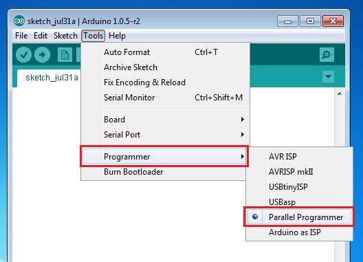 Arduino IDE Screenshot