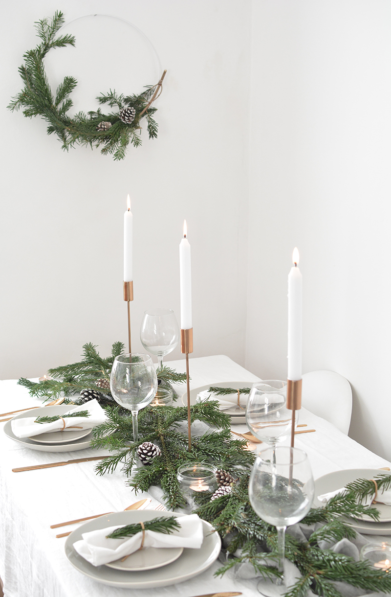 minimal modern christmas decorations
