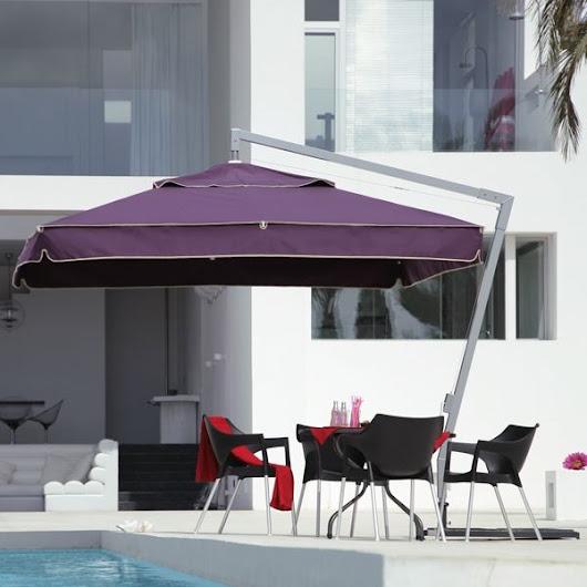 Fabulous Modern Offset Patio Umbrellas Design