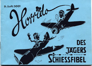 Des Jägers Schiessfibel 1944, ( Fighter pilots machine gun firing instructions 1944).
