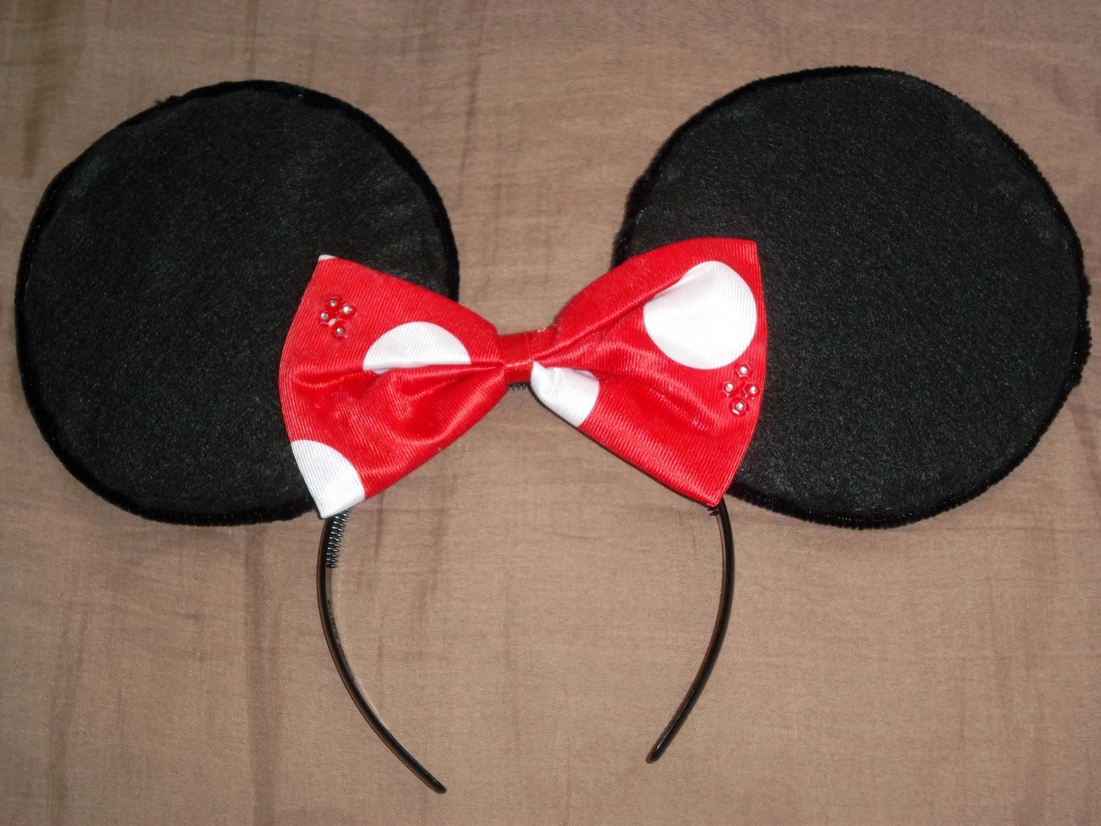I M Here Diy Minnie Mouse Ears