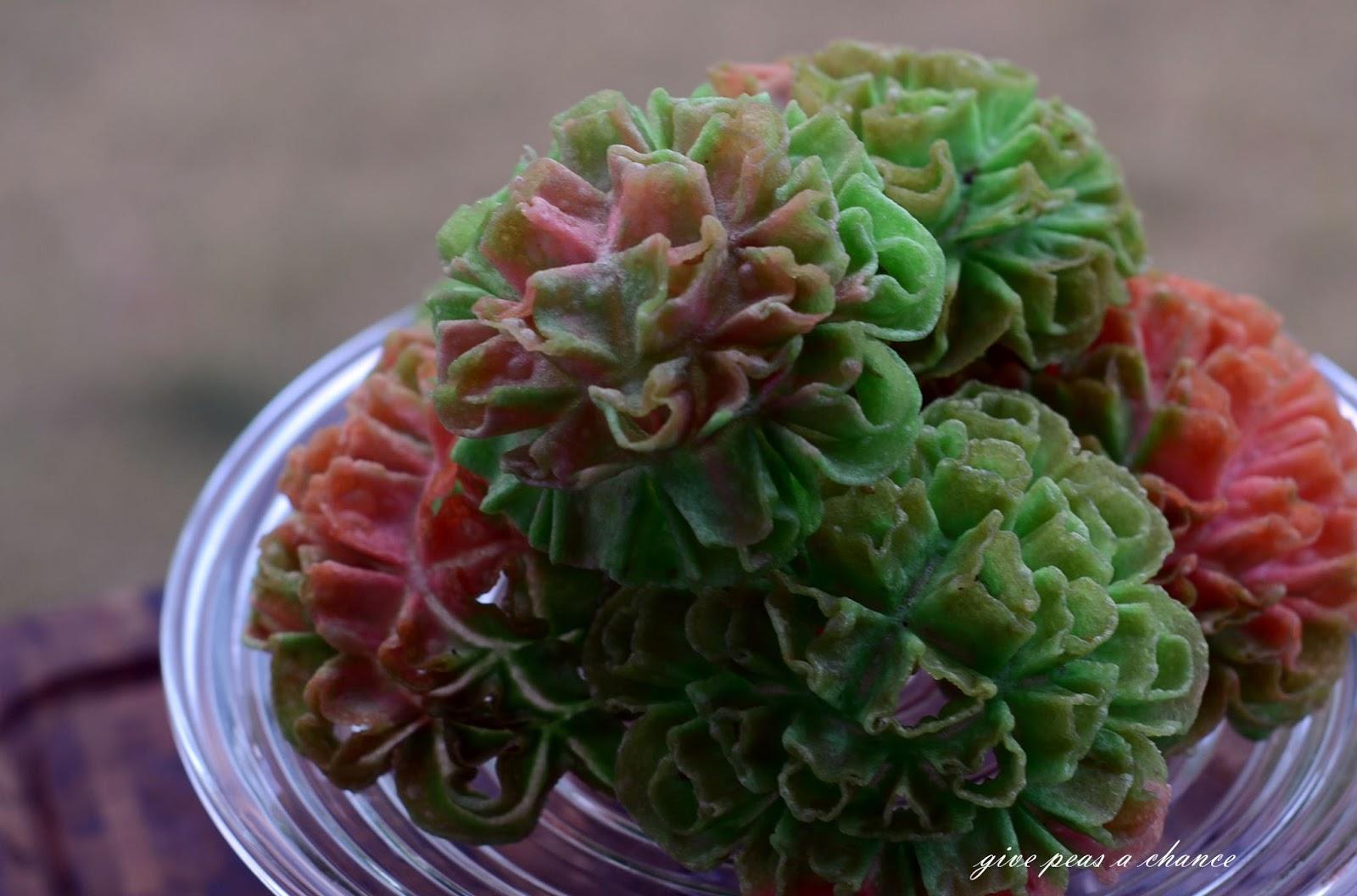 Give Peas A Chance Khanom Dok Bua Lotus Flower Cookies