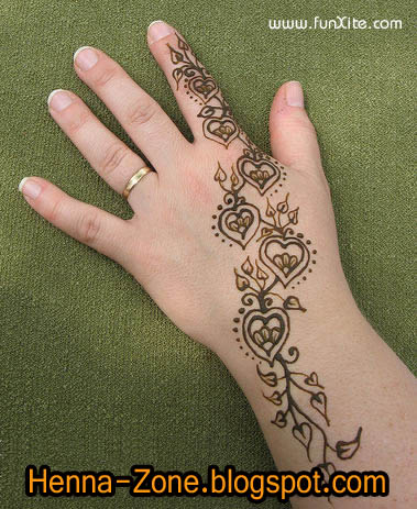 Henna Zone More Than 20 Simple Henna Designs