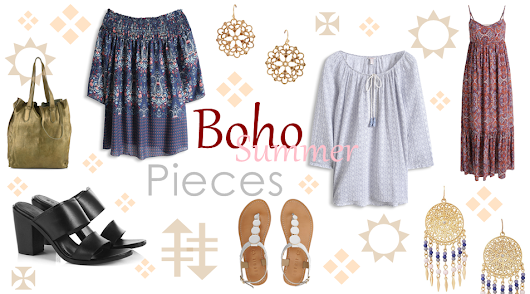 Fashion Favourites: Boho Summer Pieces