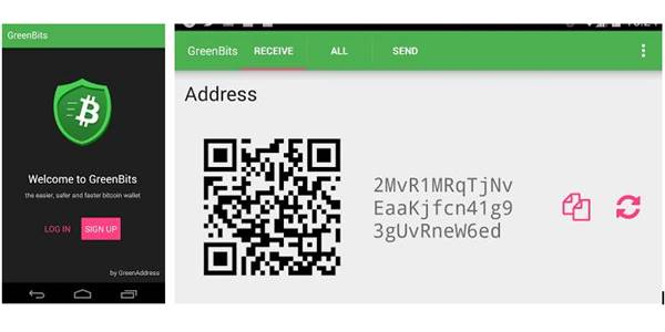 GreenBits Bitcoin Wallet