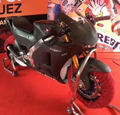 Konsumen CBR250RR Terpilih Sudah cicipin Honda RC213V-S.