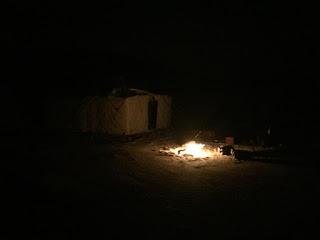 desert camping trip Eastern Province nighttime Saudi Arabia blog