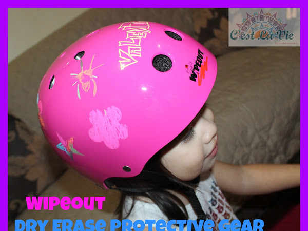 Wipeout Dry Erase Protective Gear Review #iwipeout