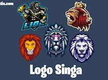 Kumpulan Logo Singa Esport Keren