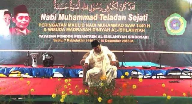 Innalillahi, Detik-detik KH Buchori Amin Wafat Saat SedangCeramah Peringatan Maulid Nabi