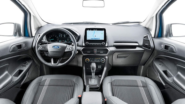 Ford EcoSport 2018 FreeStyle 1.5 Automático - interior