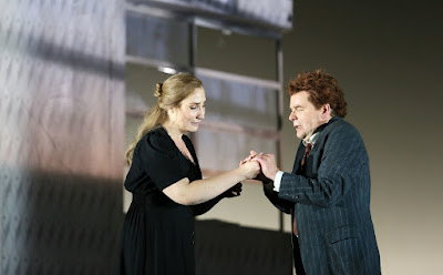 English National Opera - Jenufa - Laura Wilde, Peter Hoare - photo Donald Cooper