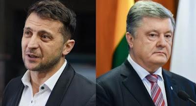 Зеленський і Порошенко озвучили свої плани в разі обрання президентом