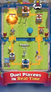 Download Game Android Clash Royale Apk v1.2.6 Mod (Unlimited Money) Free