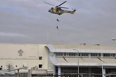 See photos from NAF counter terrorist exercise at Nnamdi Azikiwe International Airport, Abuja