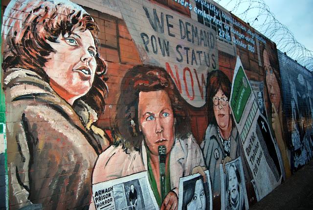 lideres irlandeses murales belfast