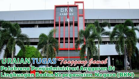 Uraian Tugas Pelaksana Pengadministrasi Anggaran BKN