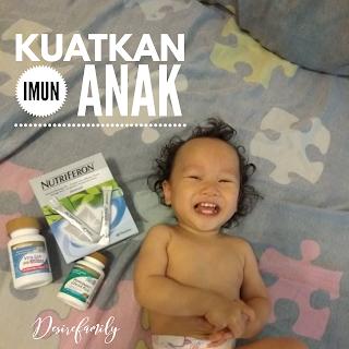 Ikhtiar Kuatkan Badan Baby