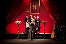 Ilona Domnich as Hanna Glawari - The Merry Widow - Ryedale Festival Opera
