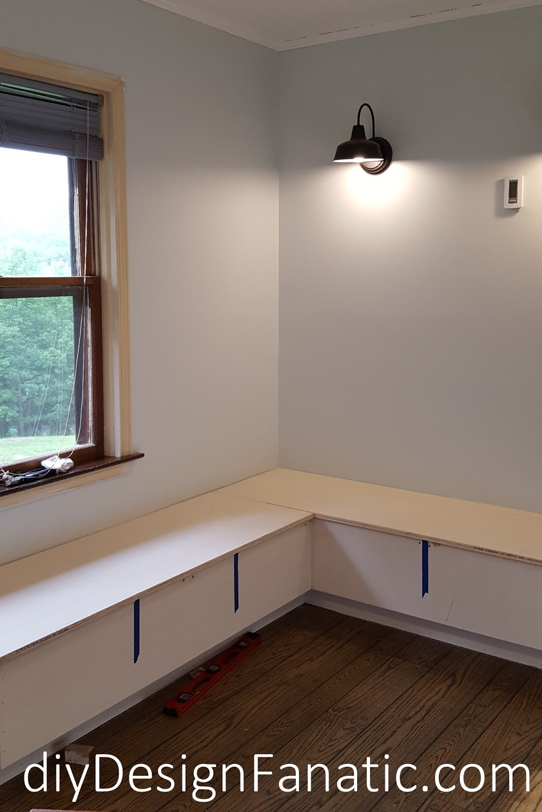 I Wanted The Front And Sides Of The Banquette To Look Like