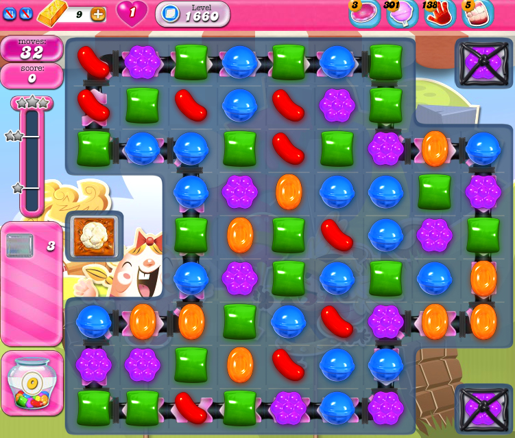 Candy Crush Saga 1660