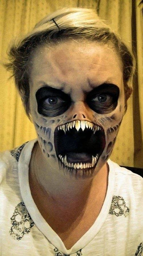 21-Nikki-Shelley-Halloween-Changing-Faces-Body-Paint-www-designstack-co