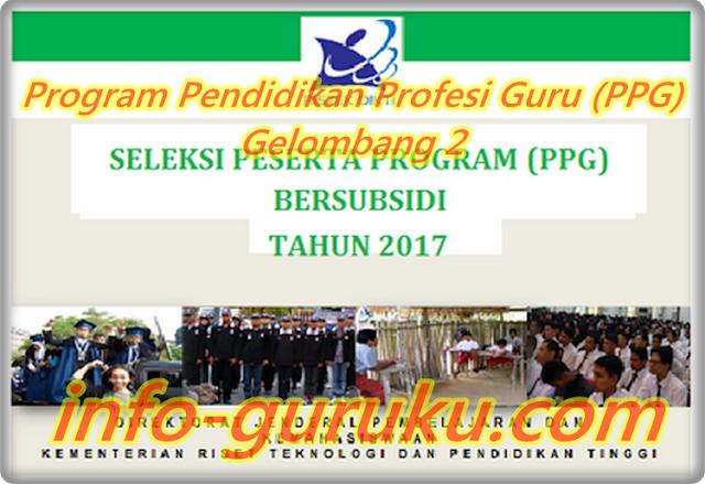 Kementerian Resmi Membuka : Program Pendidikan Profesi Guru (PPG) Gelombang 2