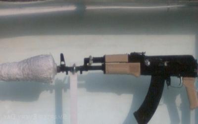 Como é um tiro de AK-47 dentro da Água