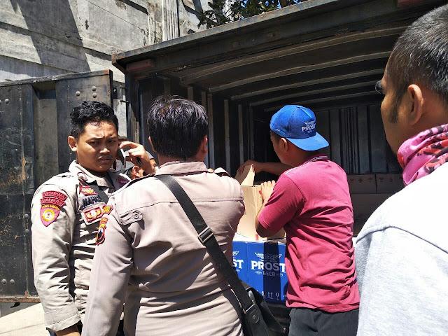 Polres Kebumen Gagalkan Droping Miras untuk Perayaan HUT RI dan Malam Takbiran