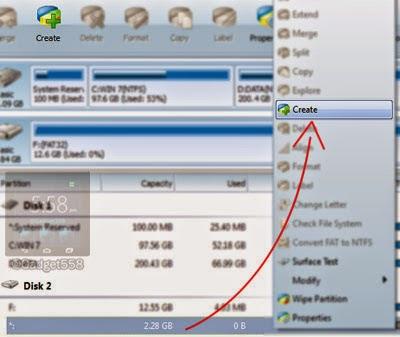 Cara Partisi Kartu Memori / SdCard Android Untuk Link2SD