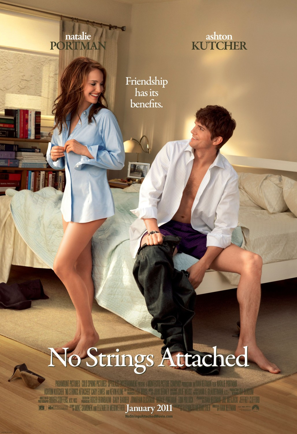 Nonton Film No Strings Attached (2011)