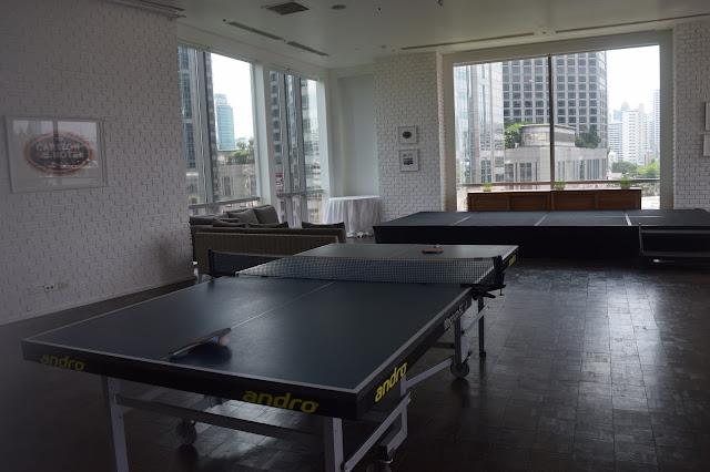 Oriental Residence Bangkok Game Room