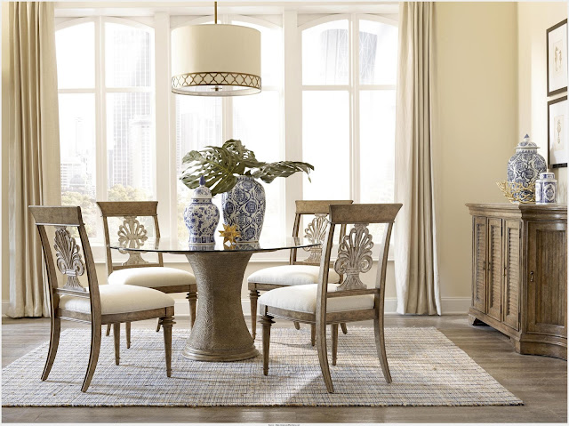 Cool 60 Inch Round Glass Dining Table Snapshot