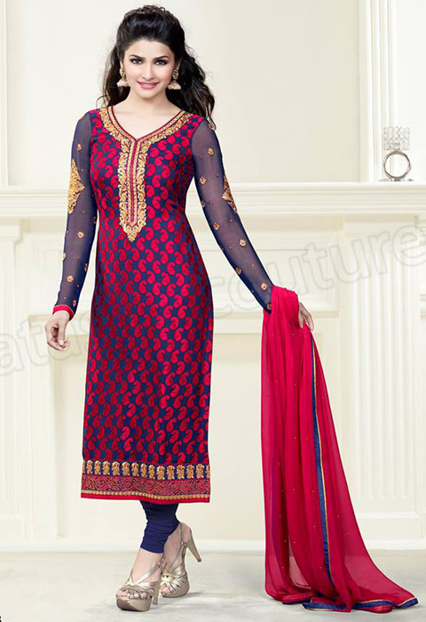 10 gaya model baju gamis india modern 2016 Baju gamis model india 2015