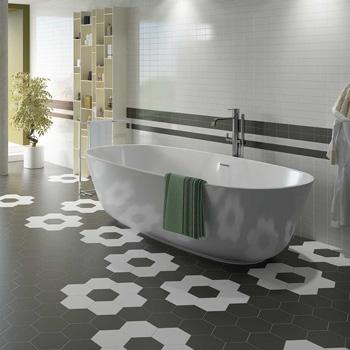 65 desain lantai kamar mandi modern, cantik & elegan