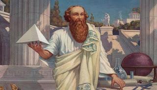 عالم الرياضيات فيتاغورس